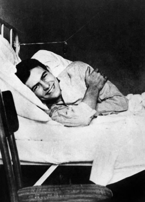 des blessés , Hemingway