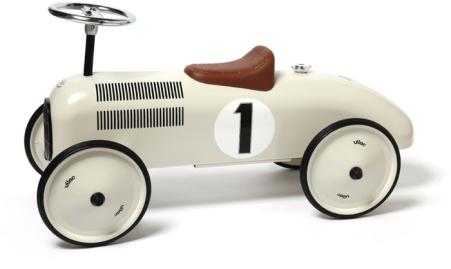 vilac voiture metal blanc nacre_1